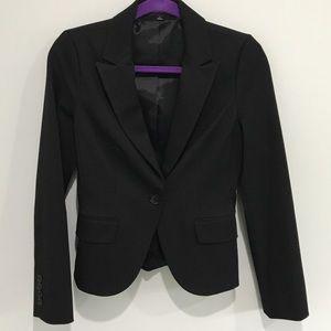Express Design Studio black tailored blazer